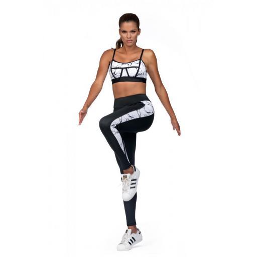 Leggings tejido deportivo