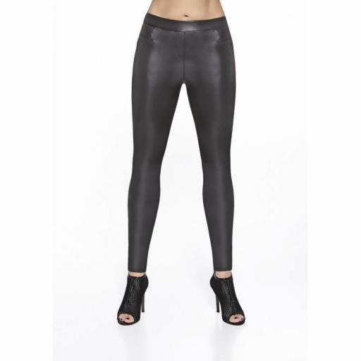 Leggings brillantes efecto vinilo [1]