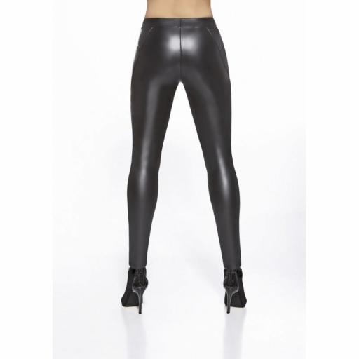 Leggings brillantes efecto vinilo [3]