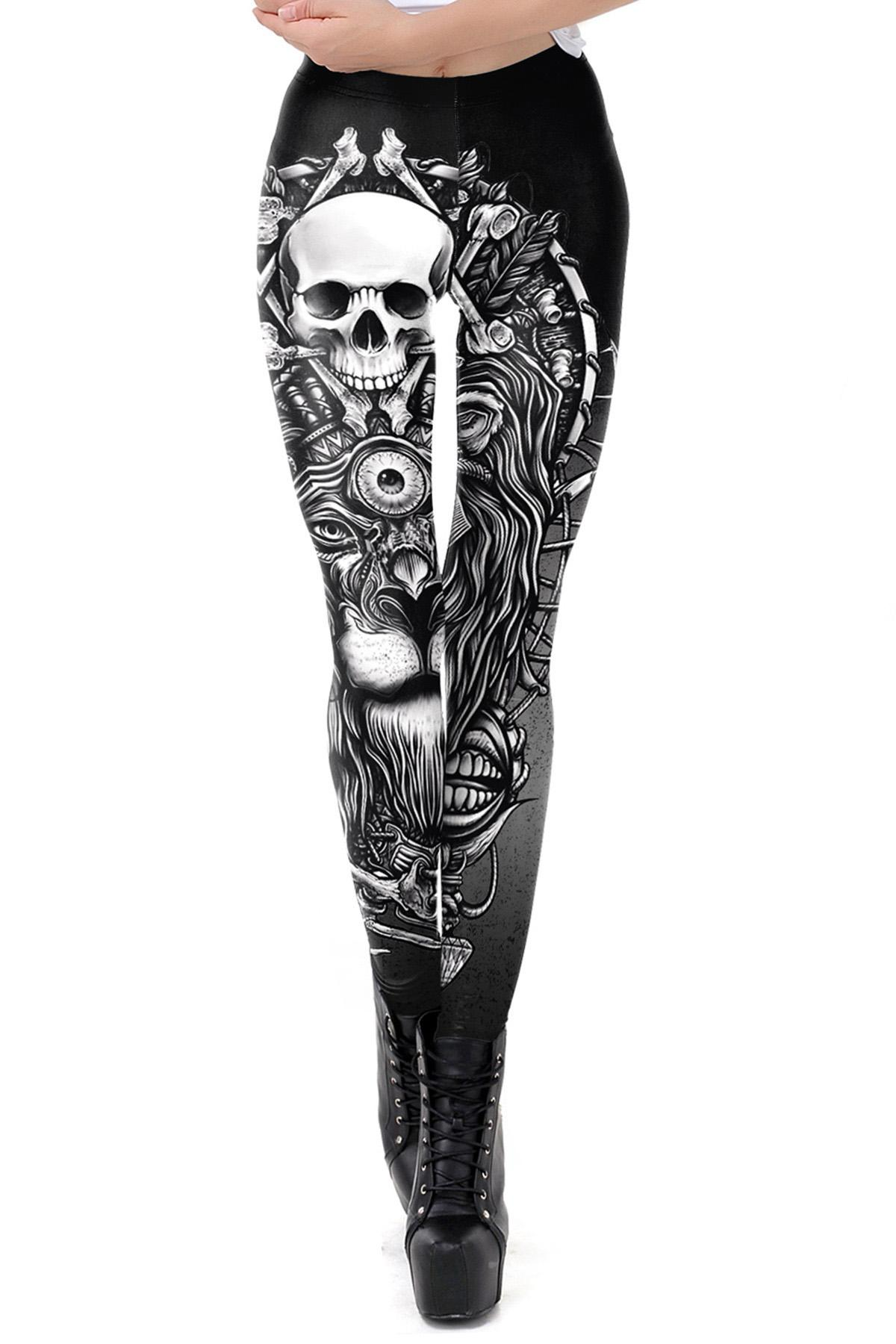 Leggings calavera