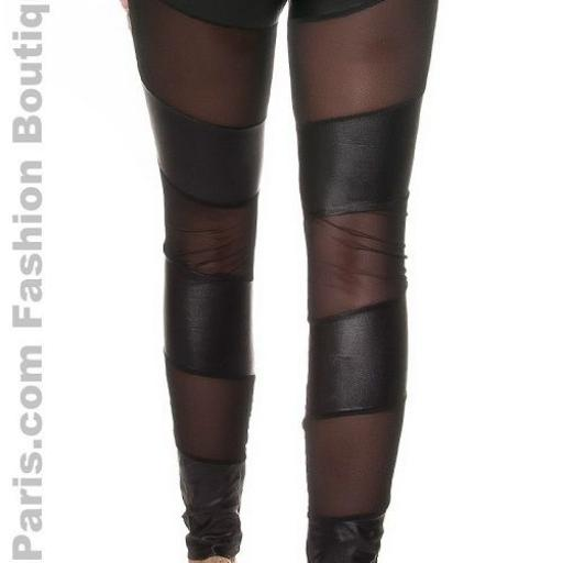 ​Leggings con transparencias de moda [2]