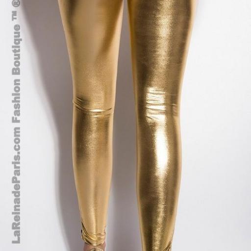Leggings dorados te harán brillar [2]