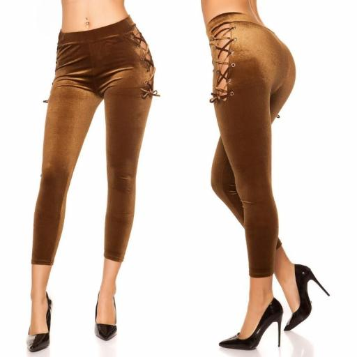 Leggings marrón velvet [1]