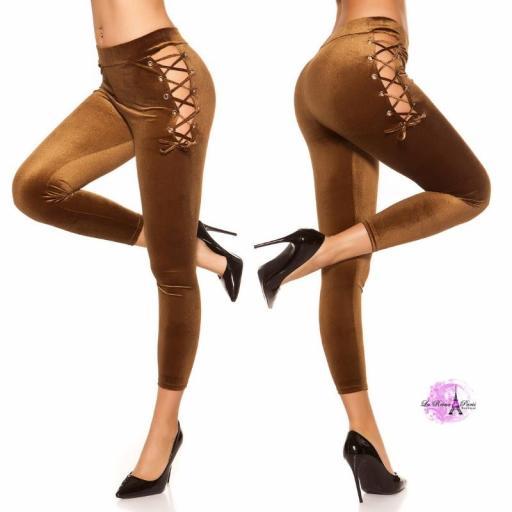 Leggings marrón velvet [2]