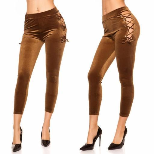 Leggings marrón velvet [3]
