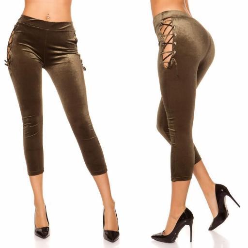 Leggings kakhi velvet [1]
