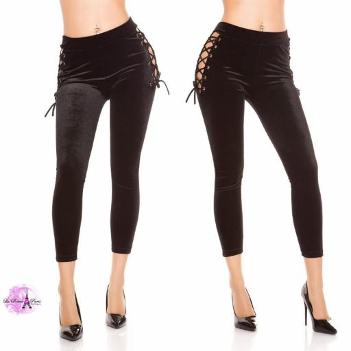 Leggings negro velvet [3]