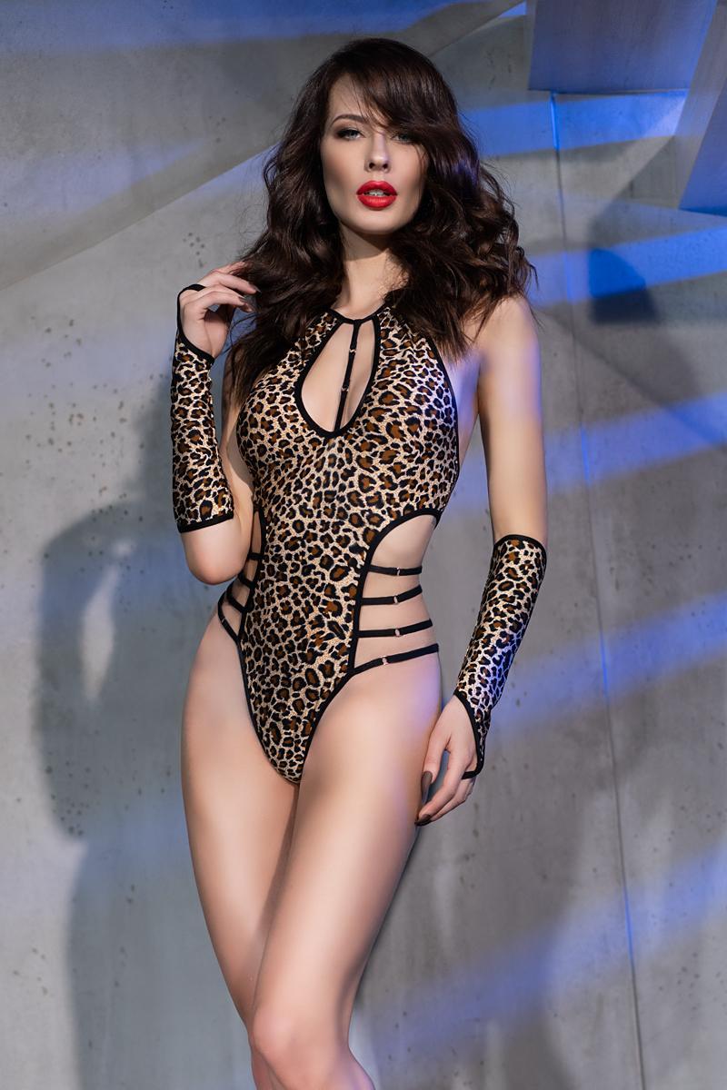 Body salvaje leopardo