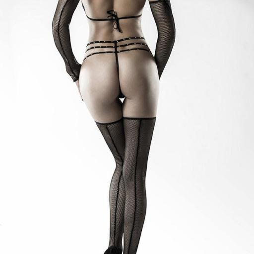 Conjunto de lencería 4 piezas sensual [2]
