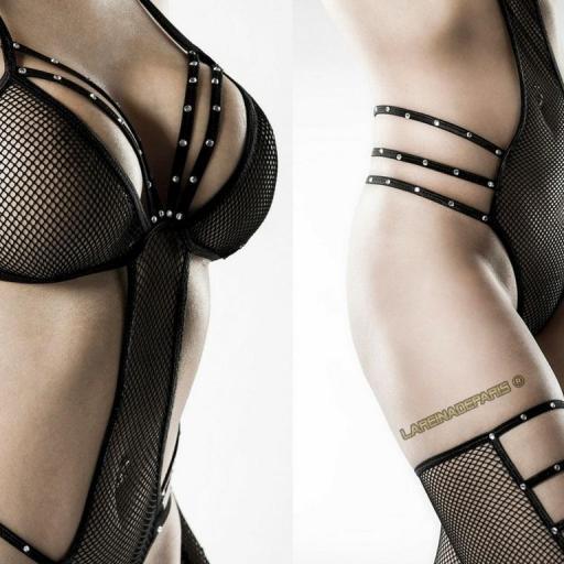 Conjunto de lencería 4 piezas sensual [3]