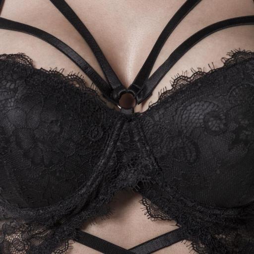 Conjunto reina sexy negro [2]