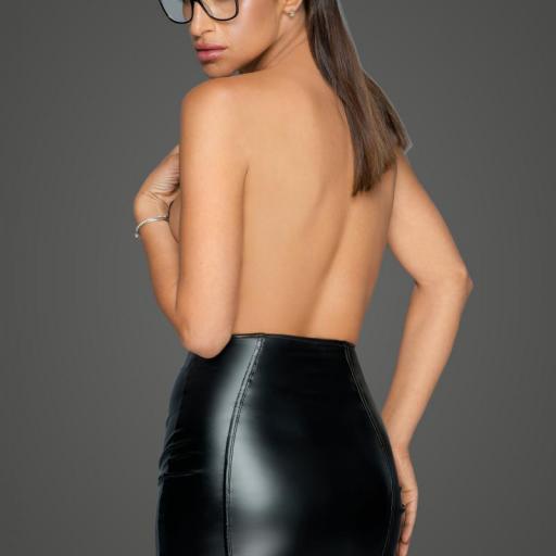 Minifalda de cuero sintético ecológico  [1]