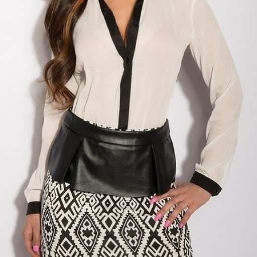 falda modelo Azteca [0]