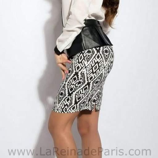 falda modelo Azteca [1]