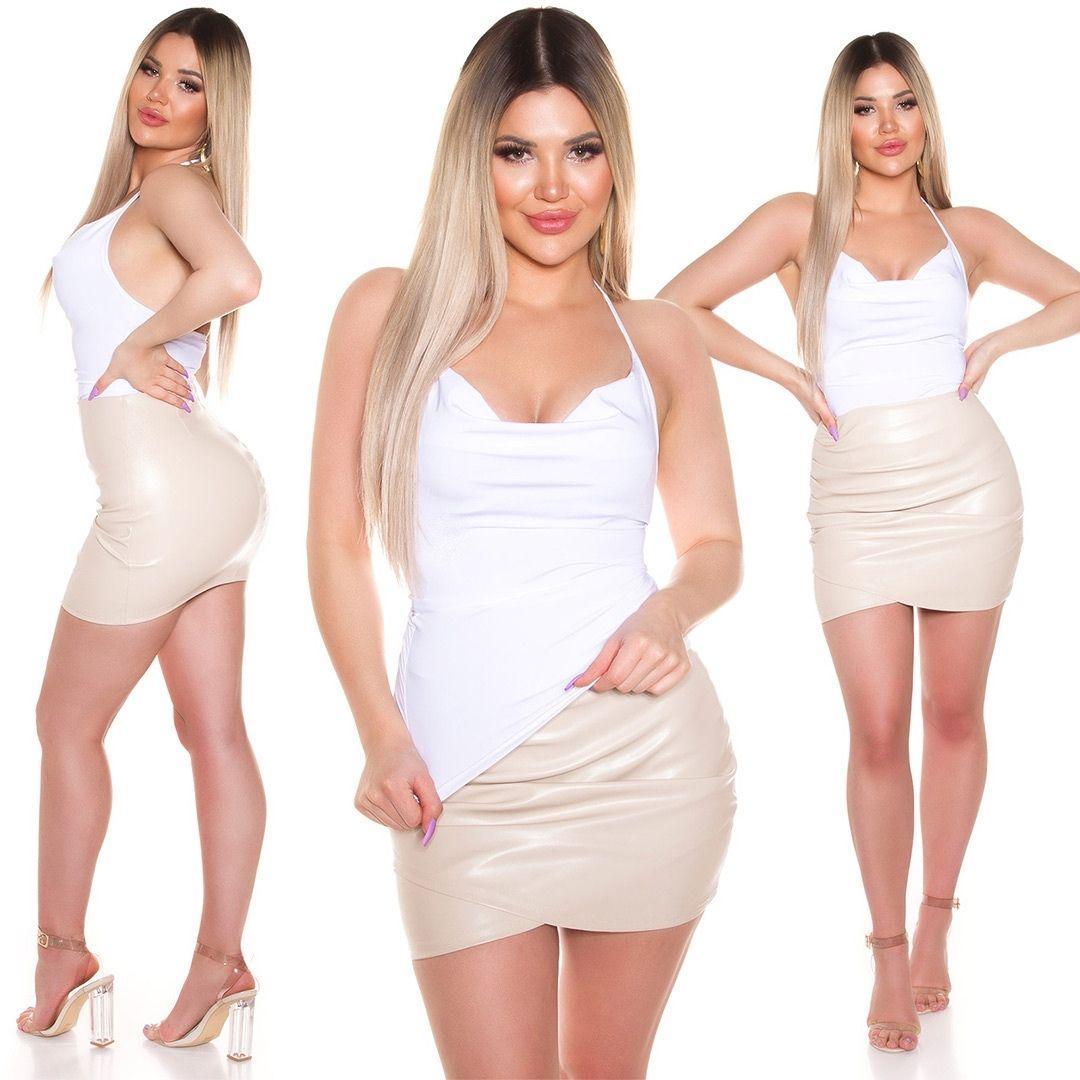 Moda Top blanco