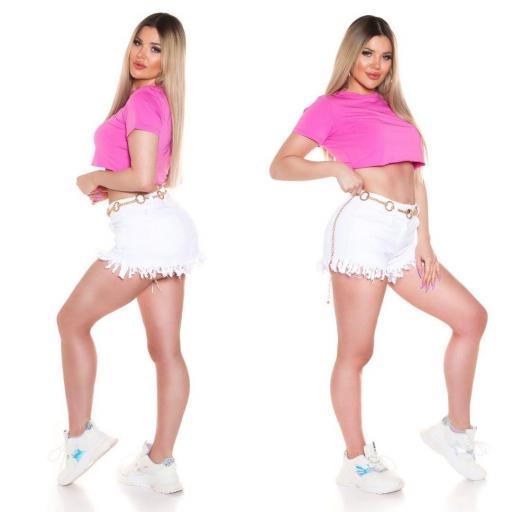 Top corto básico rosa [2]