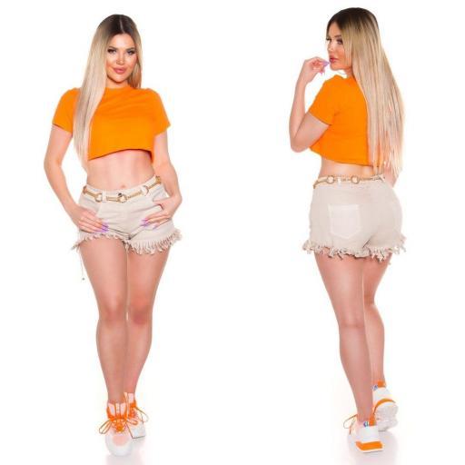 Top corto básico naranja [1]