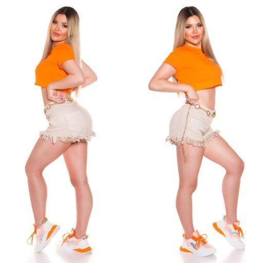 Top corto básico naranja [2]