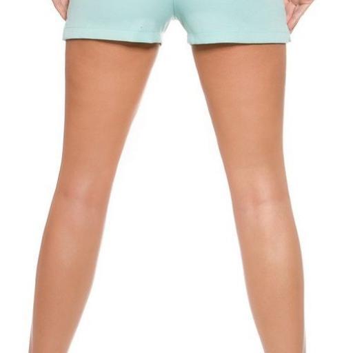 Shorts elegante y femenino menta [1]