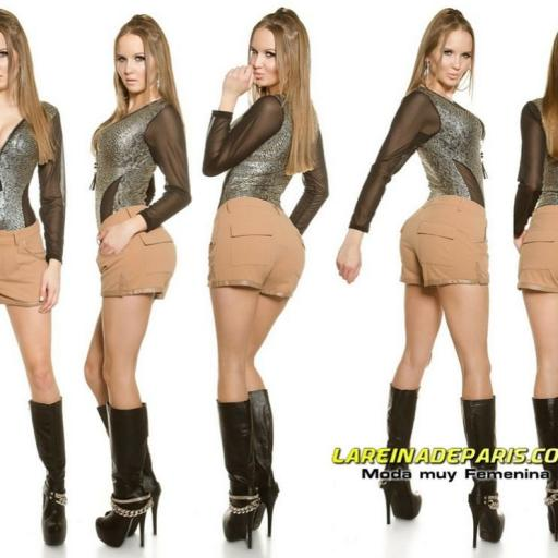 Pantalón femenino corto de moda [3]