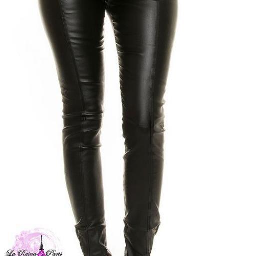 Pantalón mujer ajustado cintura alta [2]
