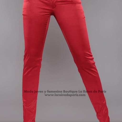 Pantalones ajustados AUM Rojo [3]