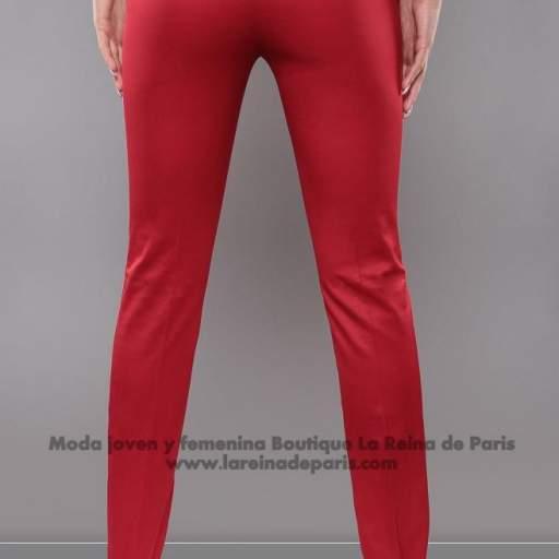 Pantalones ajustados AUM Rojo [1]