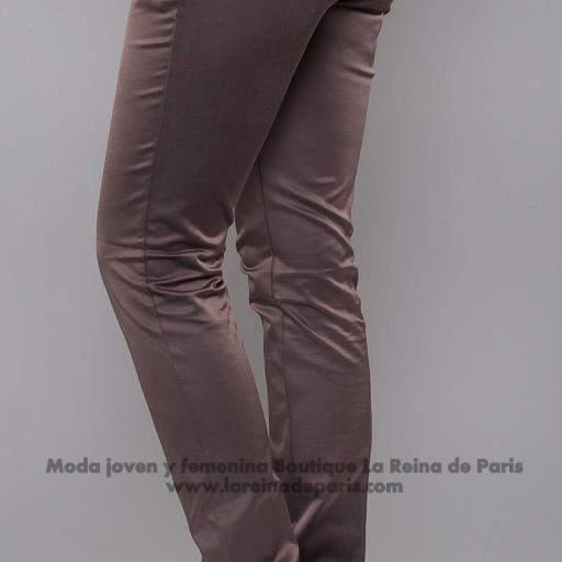 Pantalones brillantes AUM Marrón [1]