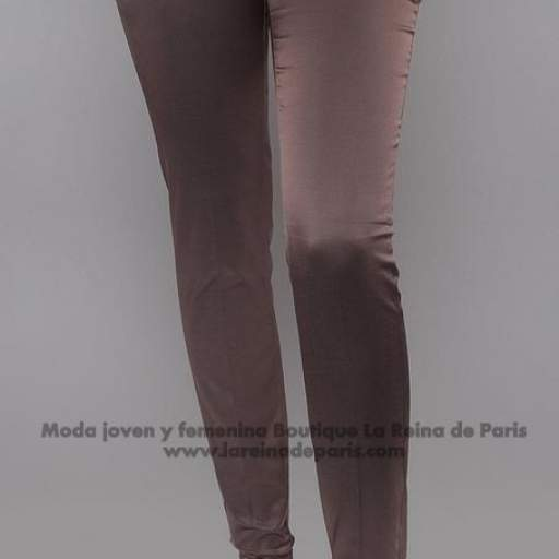 Pantalones brillantes AUM Marrón [3]