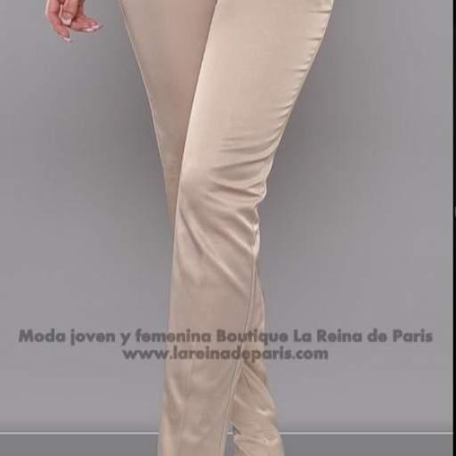 Pantalones brillantes AUM beige [3]