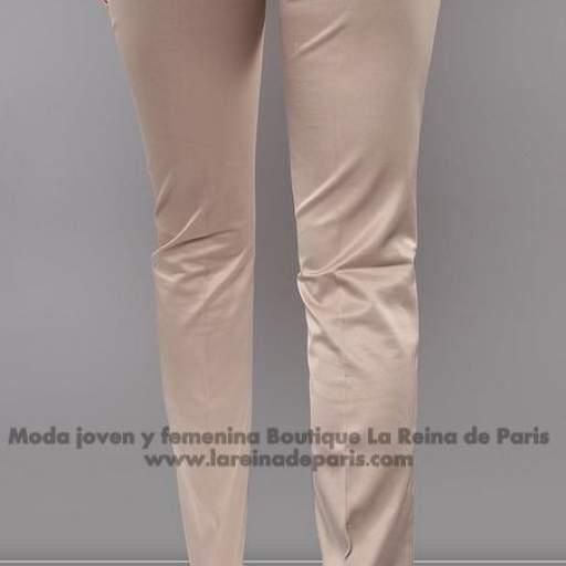 Pantalones brillantes AUM beige [2]