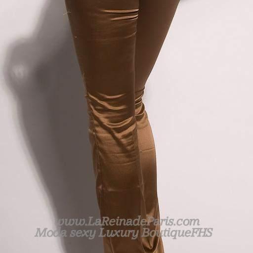 Pantalones ajustados Bronce [1]