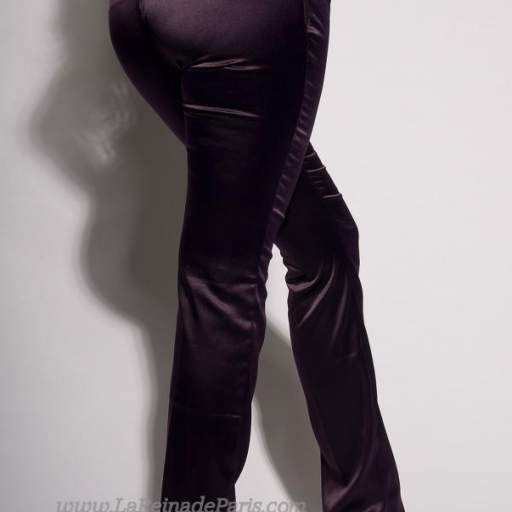 Pantalones ajustados Lila oferta [3]