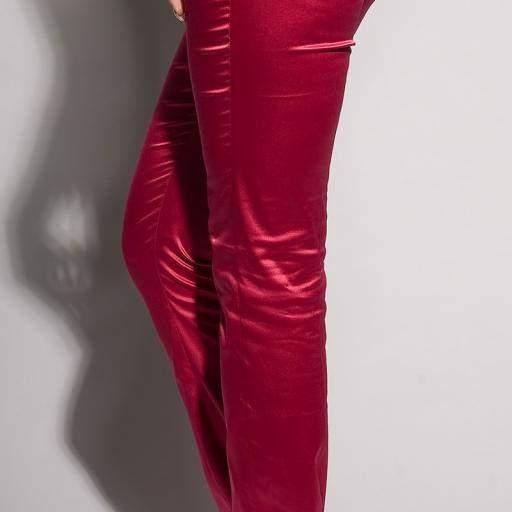 Pantalones ajustados Fucsia Oferta [3]