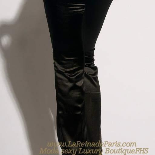 Pantalones negros ajustados Oferta [1]