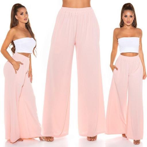 Pantalón moda verano 2021 rosa