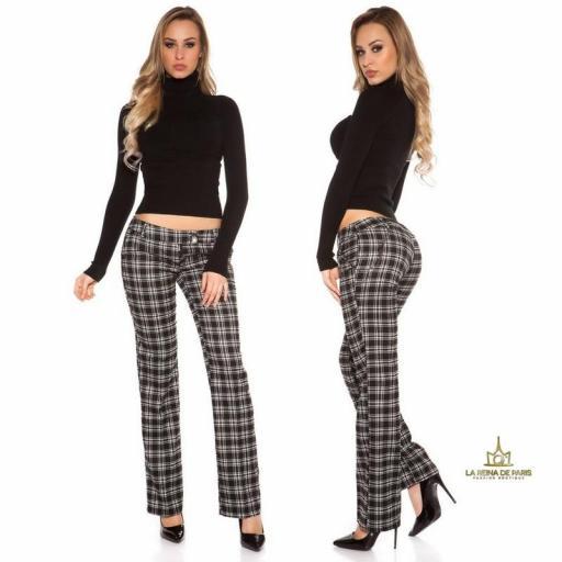 Pantalones Caro tartán style  [3]
