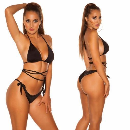 Top superior para bikini negro [2]
