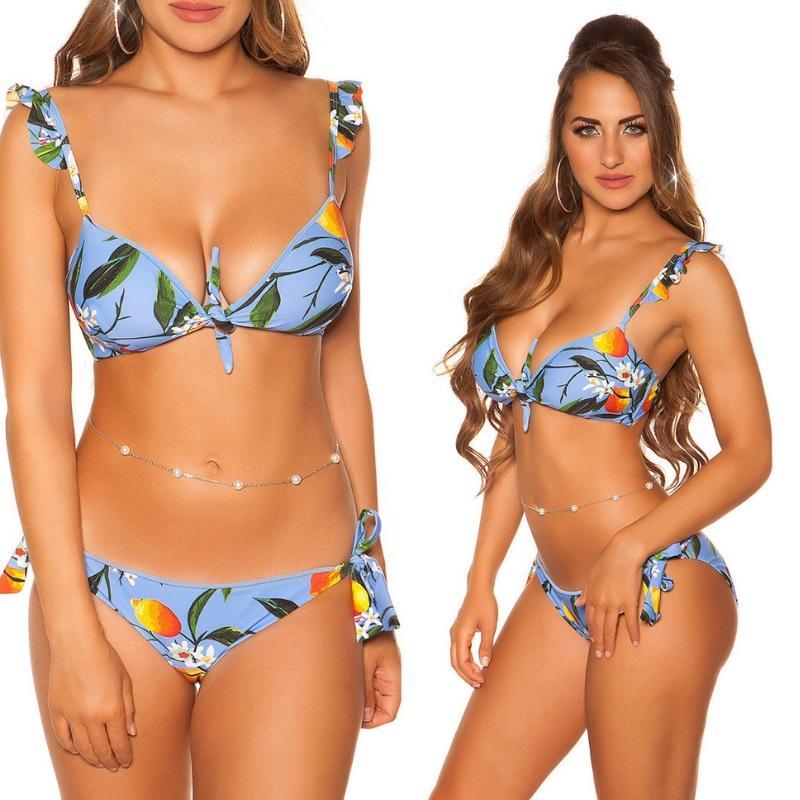 Bikini Puerto Vallarta azul