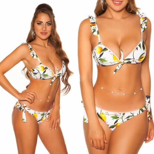 Bikini Puerto Vallarta blanco