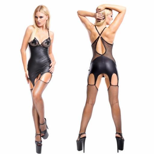 Vestido cuero Femme Fatale  [2]