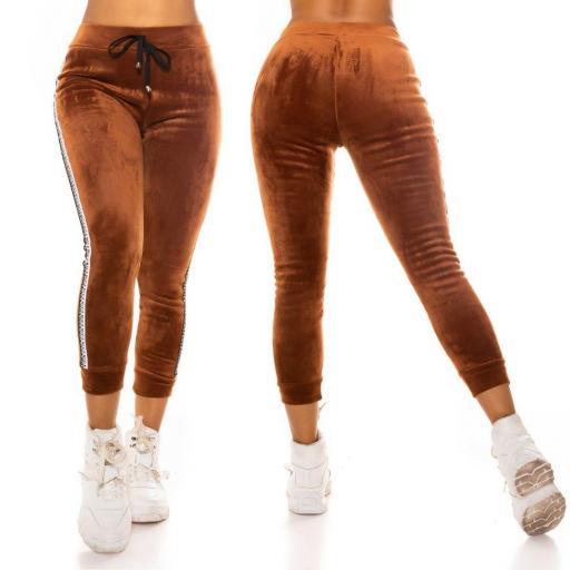 Pantalón de chandal bronce térmico    [1]
