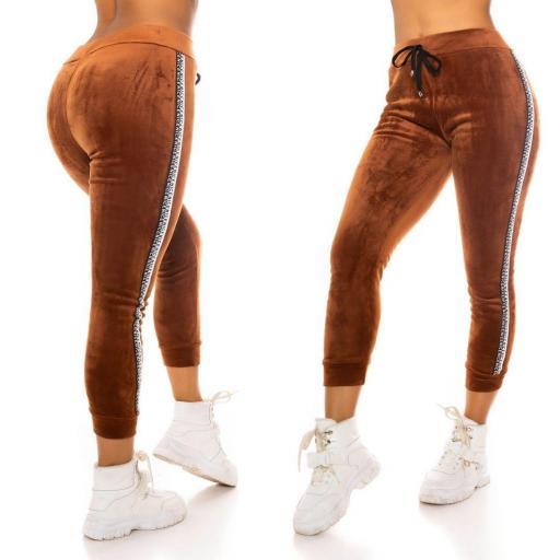 Pantalón de chandal bronce térmico    [2]