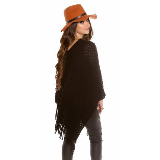 Sombrero boho de fieltro color ocre [3]