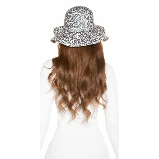 Sombrero animal print blanco [0]