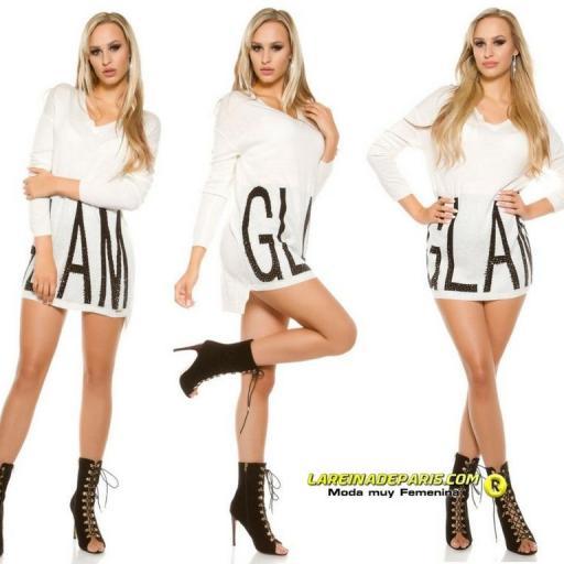 Sueter largo Glam moderno y atractivo  [3]