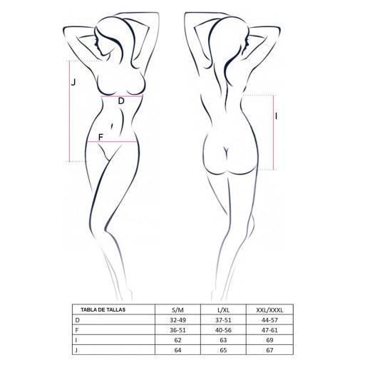 Body encaje cuero ecológico  [2]