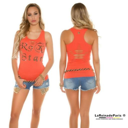 Top moda Rock Star Coral