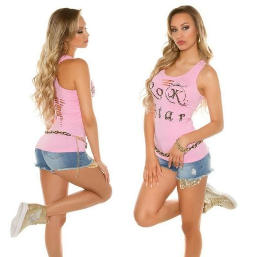 Top moda Rock Star Rosa [1]