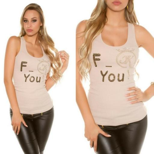 Top moda F-You Beige [3]